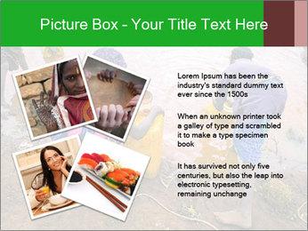 Village girls PowerPoint Templates - Slide 23
