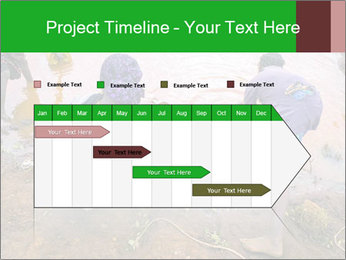 Village girls PowerPoint Templates - Slide 25