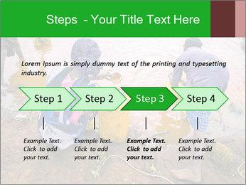 Village girls PowerPoint Templates - Slide 4