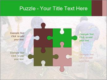 Village girls PowerPoint Templates - Slide 43