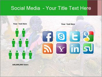 Village girls PowerPoint Templates - Slide 5