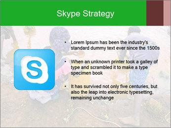 Village girls PowerPoint Templates - Slide 8