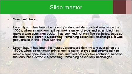Village girls PowerPoint Template - Slide 2