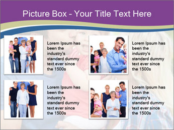 Photo of affectionate parents PowerPoint Template - Slide 14
