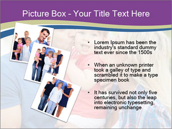 Photo of affectionate parents PowerPoint Template - Slide 17