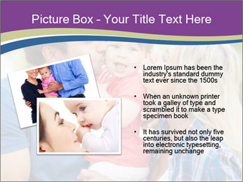 Photo of affectionate parents PowerPoint Template - Slide 20