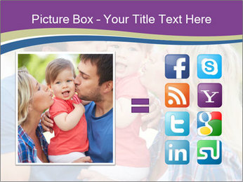 Photo of affectionate parents PowerPoint Template - Slide 21