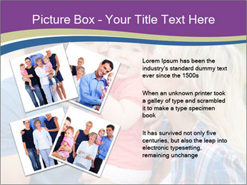 Photo of affectionate parents PowerPoint Template - Slide 23