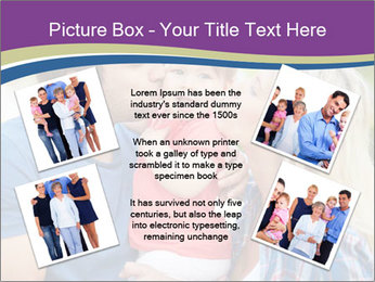 Photo of affectionate parents PowerPoint Template - Slide 24