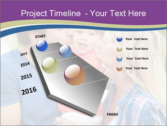 Photo of affectionate parents PowerPoint Template - Slide 26