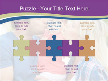 Photo of affectionate parents PowerPoint Template - Slide 41