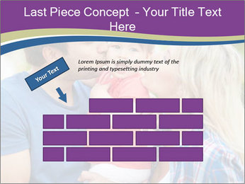 Photo of affectionate parents PowerPoint Template - Slide 46
