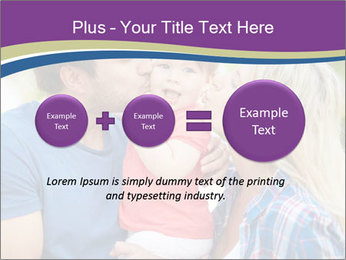 Photo of affectionate parents PowerPoint Template - Slide 75