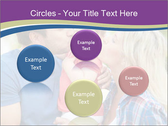 Photo of affectionate parents PowerPoint Template - Slide 77