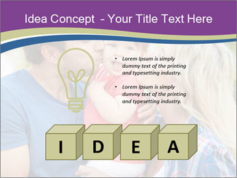 Photo of affectionate parents PowerPoint Template - Slide 80