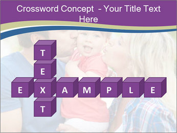 Photo of affectionate parents PowerPoint Template - Slide 82