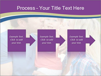 Photo of affectionate parents PowerPoint Template - Slide 88