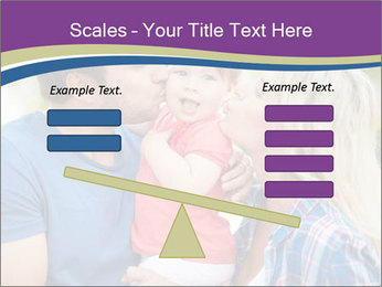 Photo of affectionate parents PowerPoint Template - Slide 89