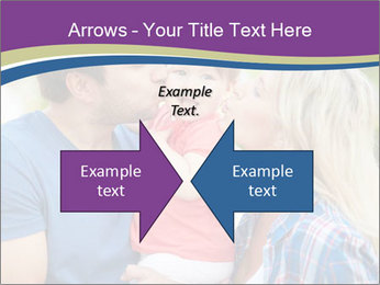 Photo of affectionate parents PowerPoint Template - Slide 90