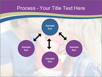 Photo of affectionate parents PowerPoint Template - Slide 91
