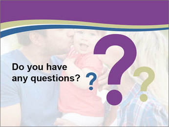 Photo of affectionate parents PowerPoint Template - Slide 96
