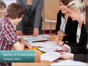 Diverse group Plantillas de Presentaciones PowerPoint