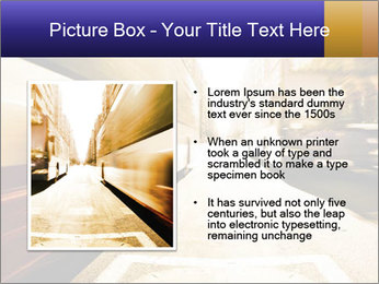 Motion blurred PowerPoint Templates - Slide 13