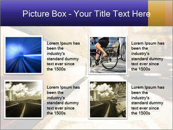 Motion blurred PowerPoint Templates - Slide 14