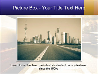 Motion blurred PowerPoint Templates - Slide 15