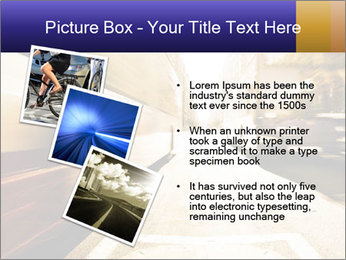 Motion blurred PowerPoint Templates - Slide 17