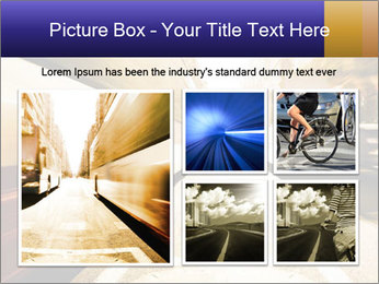 Motion blurred PowerPoint Templates - Slide 19
