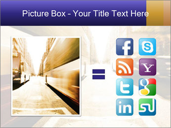 Motion blurred PowerPoint Templates - Slide 21