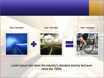 Motion blurred PowerPoint Templates - Slide 22