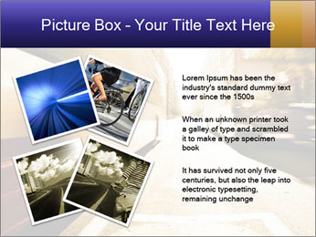Motion blurred PowerPoint Templates - Slide 23