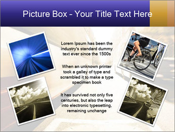Motion blurred PowerPoint Templates - Slide 24