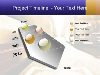 Motion blurred PowerPoint Templates - Slide 26