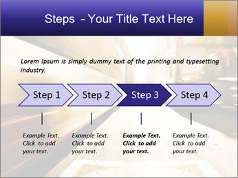 Motion blurred PowerPoint Templates - Slide 4