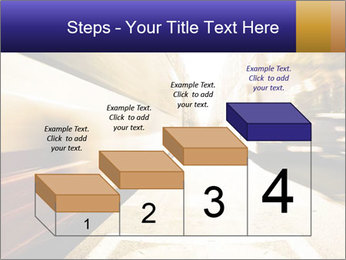 Motion blurred PowerPoint Templates - Slide 64