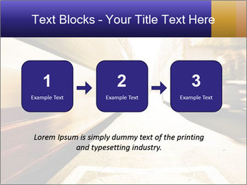 Motion blurred PowerPoint Templates - Slide 71