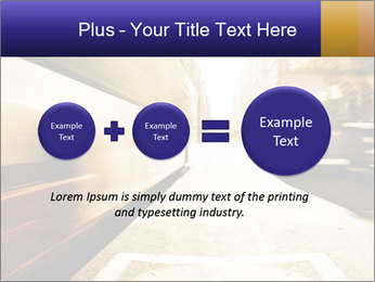 Motion blurred PowerPoint Templates - Slide 75