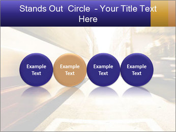 Motion blurred PowerPoint Templates - Slide 76