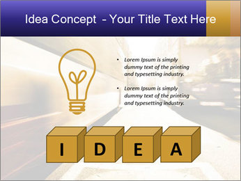 Motion blurred PowerPoint Templates - Slide 80
