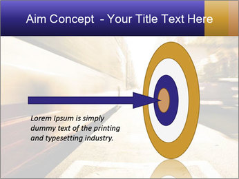 Motion blurred PowerPoint Templates - Slide 83