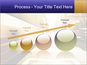 Motion blurred PowerPoint Templates - Slide 87