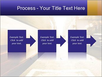 Motion blurred PowerPoint Templates - Slide 88