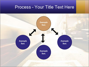 Motion blurred PowerPoint Templates - Slide 91