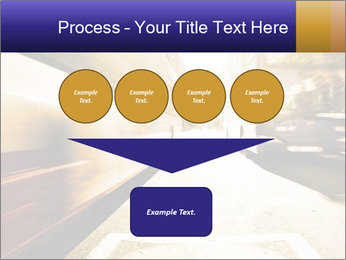 Motion blurred PowerPoint Templates - Slide 93