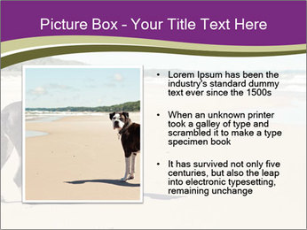 Dog PowerPoint Template - Slide 13