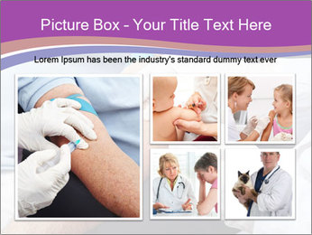 Man giving blood donation PowerPoint Template - Slide 19
