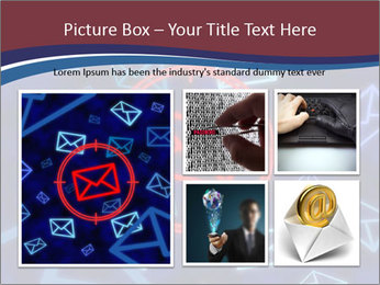 Email icon PowerPoint Templates - Slide 19